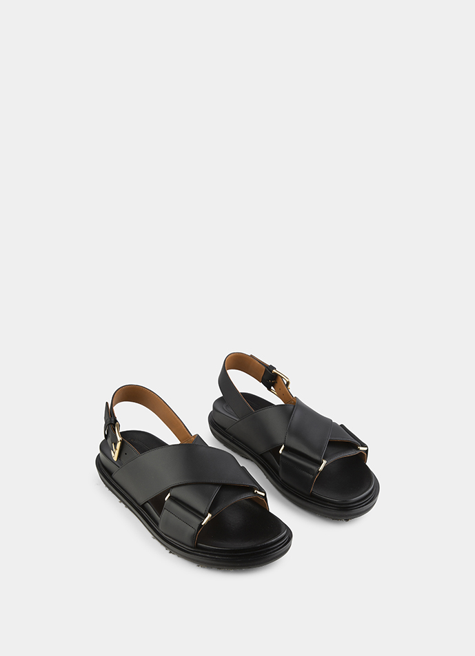 Marni Fussbett cross over Sandals in 2019 | Products